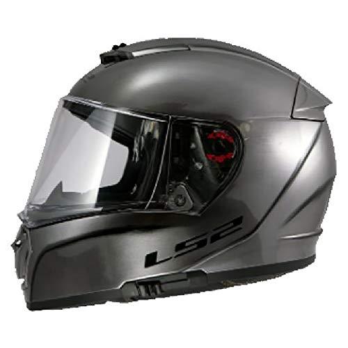 LS2 Helmets Full Face Street Breaker Helmet (White - Small)