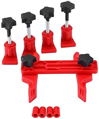 LNDDP Nockenwellen-Verriegelungshalter, universeller 5-teiliger Nockenwellen-Verriegelungshalter Auto-Motor-Nockensteuerung-Werkzeugsatz