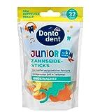 Dontodent Varillas de hilo dental Junior, 32 unidades