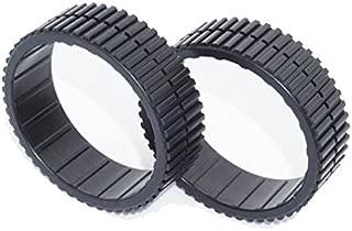 フロアモッピングロボット iRobot Braava 380j/371j compatible tires タイヤ/ラバー/トレッド/380t/320/321/375t/390t/Mint Plus 5200/4200/available/Cleaning Robot Tire/tyre/tyres/wheel/wheels/ルンバ//ホイール(1pack=2pcs)[海外直送品] [並行輸入品]