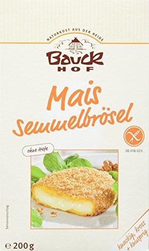 Bauckhof Bio Mais Paniermehl, 2er Pack (2 x 200 g)