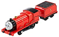 motorised track master James engine Redesigned track master engines feature enhanced speed and performance The ideal addition to your expandable, connectable, motorised Thomas & Friends track master world Motorised train play is compatible with most ...