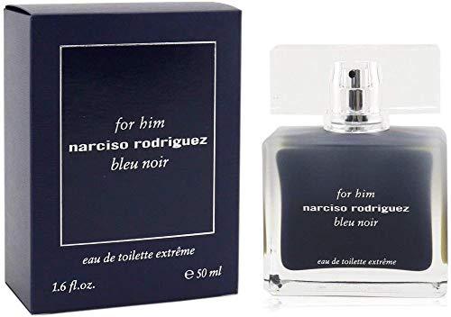 Narciso Rodriguez Unisex for HIM BLEU Noir EUA DE Toilette Extreme 50ML, Negro, Standard