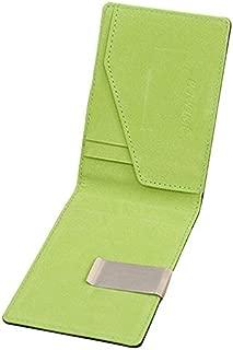 Men's Wallet Fashion Leather Wallet Trend Magic Credit Card ID Holder Wallet Wallet (Color : Blue, Size : S)