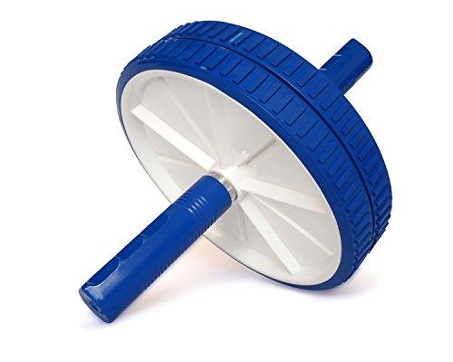 Yes4All O2O5 Dual Ab Wheel, Blue