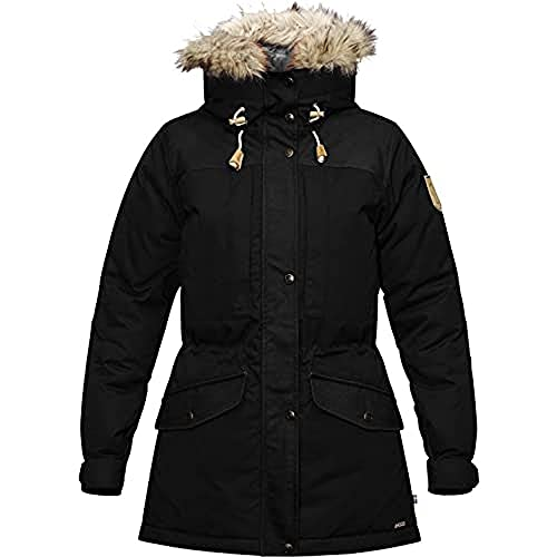Fjällräven Damen Singi Down Jacket W Sport, Black, M