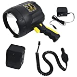 Brinkmann FBA_9507440 QBeam 800-2380-W Max Million III Rechargeable Spotlight Offroad Automotive/Garage/Emergency/Boating/Fishing/Hunting/Camping/Hiking/Patrolling