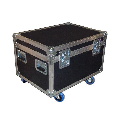 "Cable Trunk 'Mini Size' 30x22 ATA Case - Heavy Duty 3/8"" Ply w/Wheels - Standard High - Truck Pack Size"