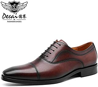 Formal Shoes - Brand New Formal Wedding Shoes Men Laces Up Soft Comfortable Oxford Shoes Men's Cleat Fashion Large Size Sh...