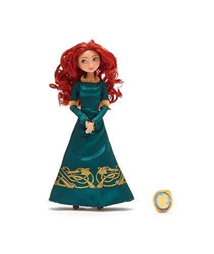 DS Disney Store Originale Bambola Principessa Merida con Pendente in Regalo dal Film Ribelle- The Brave Disney