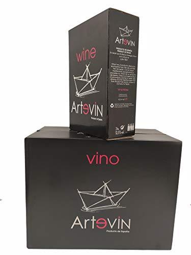 Bag in Box ARTEVIN vino TINTO 12 L (4 x 3 litros)