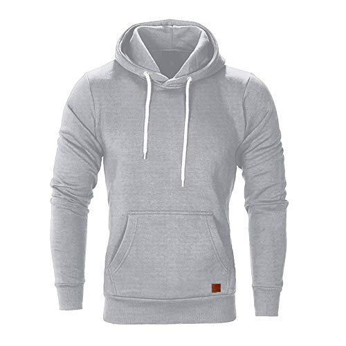 FRAUIT Männer Sweatshirt Langarm Herbst Winter Herren Kapuzenpullover | Sale | Casual Sweatshirt Hoodies Top Bluse Trainingsanzüge Herren Sweatjacke Kapuzenjacke