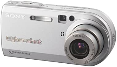 Sony Cybershot DSCP100 5.1MP Digital Camera with 3x Optical Zoom