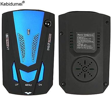 Kebidumei Car Vehicle Radar Detector 360 Degree for Vehicle V7 Speed Voice Alert Warning Security Speed