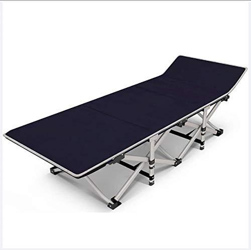 Haojie Cama Plegable Office Almuerzo Break de una Sola sábana de Dormir Luz portátil y Simple acompañamiento reclinable Cama Adulta