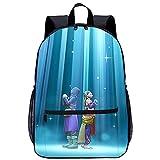 Mochila Infantil 3D Mochila Bolso -Dragon Quest XI-Adecuado para: estudiantes de primaria y secundaria, la mejor opción para viajes al aire libre-Tamaño: 45x30x15 cm / 17 pulgadas-Mochila Infantil p