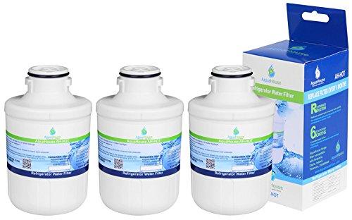 3x AH-HOT waterfilter voor koelkast Hotpoint C00300448, Thomson THSBS90WDWH, SXBD922FWD, capsule CAFF205, Indesit, Ariston, Electrolux - compatibel