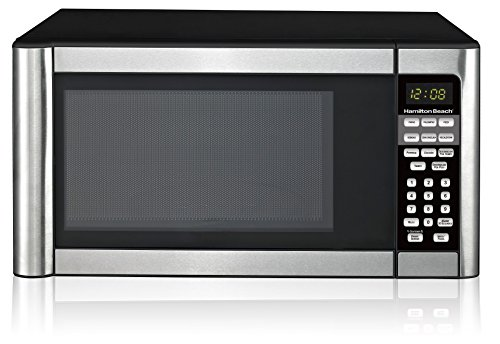 Hamilton Beach 1.1 cu ft Microwave, Stainless Steel