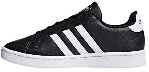 adidas Grand Court, Scarpe da Fitness Donna, Nero (Negbás/Ftwbla/Negbás 000), 40 EU