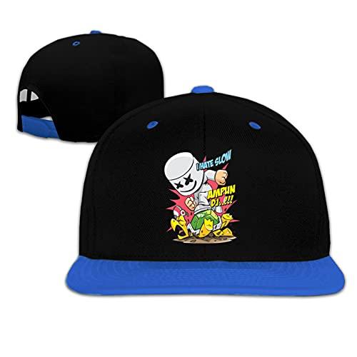 Holefg3b sport voor jongens meisjes cartoon jongens honkbalpetten zonnehoed snapback cap lente vizier hoed klassieke kinderhoed blauw