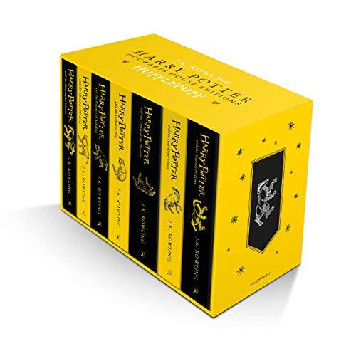 Harry Potter Hufflepuff House Editions Paperback Box Set: 1-7