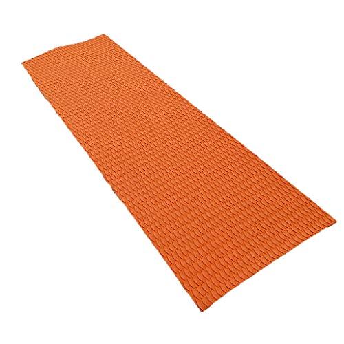 Fenteer Boot Bodenbelag Unterlage Teak Pad Selbstklebend Matte Bootsdeck 6 mm Bodenschutz Bodenschutzmatten - Orange