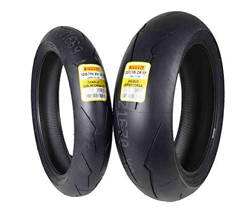 Pirelli Diablo Supercorsa V2 Front &/or Rear Street Sport Super bike Motorcycle Tires (1x Front 120/70ZR17 1x Rear 200/55ZR17) -  PSCV2-120-20055