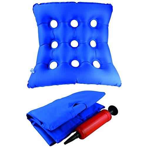XER Bequeme Sitzkissen für Rollstuhl Ideal für Längerer zurückzulehnen Steißbein Unterstützung Ideal Sitzkissen für den täglichen Gebrauch PVC-Platz Sitz