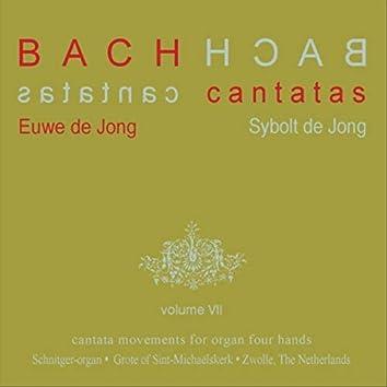 Bach Cantatas, Vol. 7: Cantata Movements for Organ Four Hands