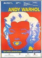 ポスター アンディ ウォーホル Un Mito Americano 額装品 アルミ製ベーシックフレーム(シルバー)
