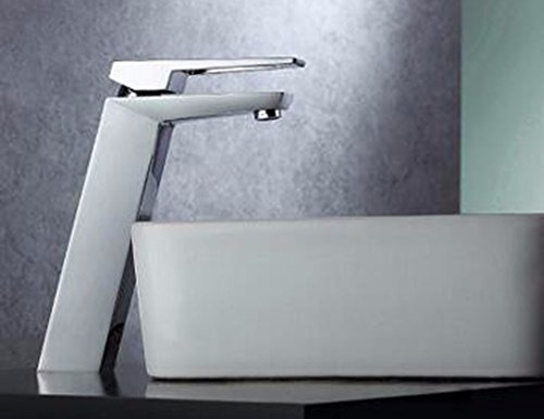 Check Out This Modern Simple Brass Constructed Polished Hot And Cold Basin Sink Faucet Bathroom Sink...