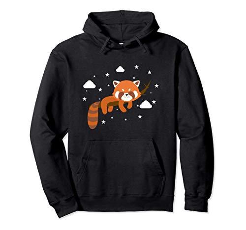 Kawaii Sleeping Red Panda Pullover Hoodie