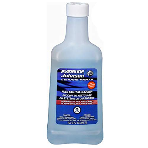 Johnson Evinrude Fuel Systems Cleaner 12-oz- 2 or 4 Cycle