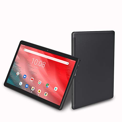 10 inch Tablet, Android 9.0, 32GB Storage, Octa-Core Processor, 1920x1200 IPS HD Display, Wi-Fi, Support 4G Phone Call (Black)