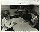 Vintage Photos 1977 Emma Mullis, Butch Ashley - College of Optometry, Houston Univ