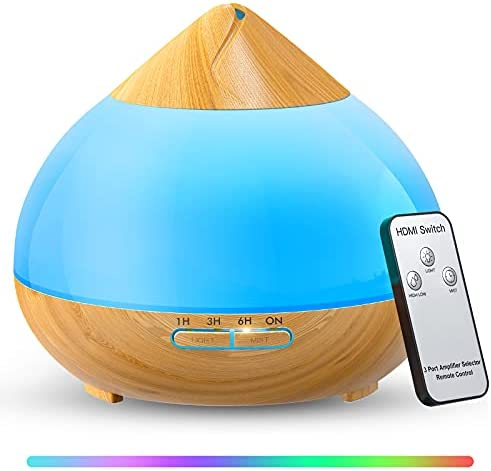 Top 10 Best essential oil diffuser with light Reviews