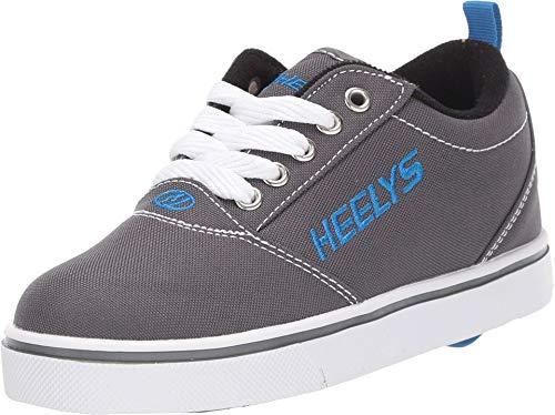 HEELYS Pro 20 (Little Kid/Big Kid/Adult) Grey/White/Royal 7 Men's, 8 Women's M