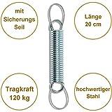 Feder mit Sicherungsseil für Hängesessel von HOBEA-Germany - 2