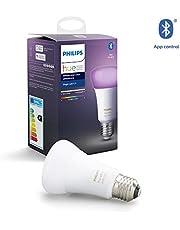 Philips Hue White and Color Ambiance Inteligentna żarówka LED E27 9W A60, 16 mln kolorów, możliwość przyciemniania, sterowanie aplikacją