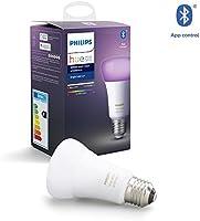 Philips Hue White and Color Ambiance Inteligentna żarówka LED E27 9W A60, 16 mln kolorów, możliwość przyciemniania,...