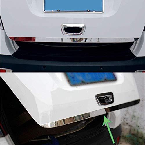 Edelstahl Chrom Zierleist Heckklappe Stylingleisten für Opel Mokka 2013-2018 Chrom Abdeckleiste Zierleiste Dekoration Protektor Auto Styling Karosseriebeschläge