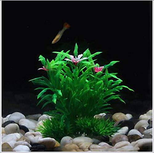 Soft Simulation Big waterplanten Decoratie voor Fish Tank Aquarium, Aquarium Decoratie hulpmiddelen