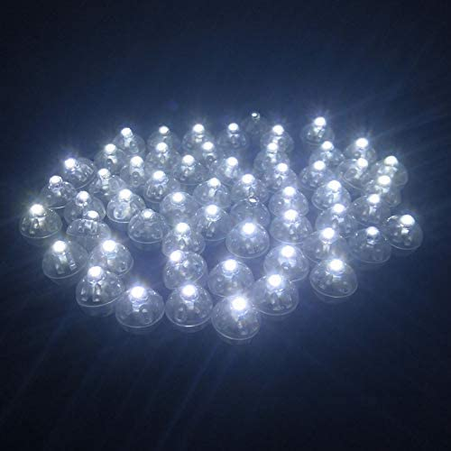 Accmor 50pcs LED Balloon Light Mini Round Ball lights Long Standby Time Ball Lights for Paper product image