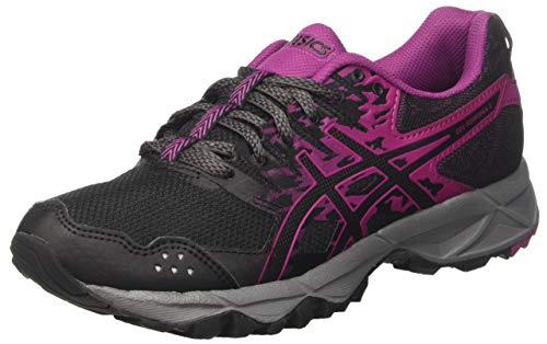 ASICS Women's Gel-Sonoma 3 Trail Running Shoes, Black (Black/Baton Rouge/Black 9032), 5 UK