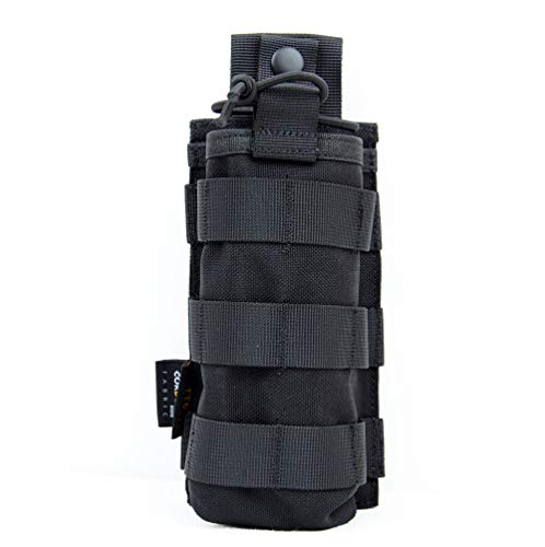Tactical Universal Radio Pouch Military Molle Two Way Radio Case Holder Bag Compatible with 5.11 Bags