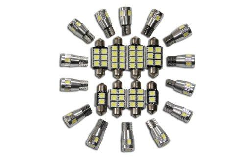 Set éclairage intérieur lot de 5 lED sMD-blanc-intérieur fahrzeugbeleuchtung véhicule