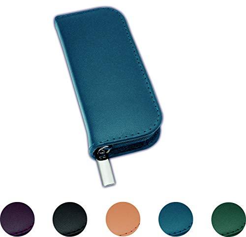 Homöopathie Taschenapotheke Klassik mit 20 Klargläsern für Globuli (blau)