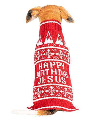 NOROZE. Suéter navideño para perro, ropa de invierno cálida para cachorros, muñeco de nieve, elfo suave, abrigo navideño