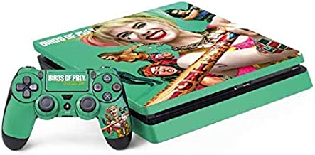 Skinit Decal Gaming Skin Compatible with PS4 Slim Bundle - Officially Licensed Warner Bros Harley Quinn Birds of Prey Design