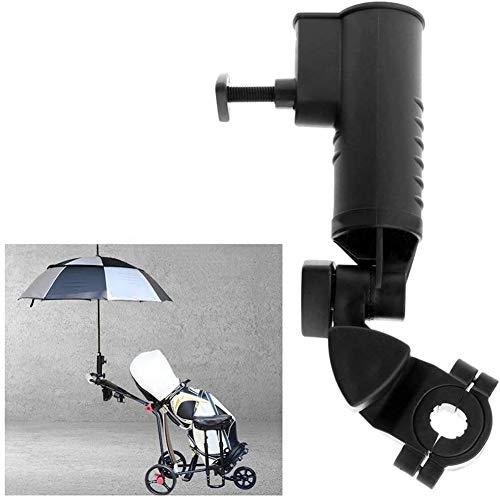 XIONGGG Einstellbare Golf-Regenschirm-Halter Trolley Cart Schirmständer Befestigung Für Rollstuhl-Bike Beach Chair, 2Er-Pack